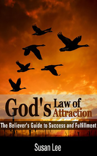 God's Law of Attraction Book Cover by Susan Lee