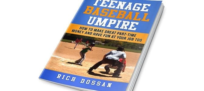 Teenage Baseball Umpire Book Cover